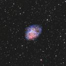 M1 The Crab Nebula,                                Seymore Stars