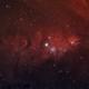 NGC 2264 The Cone, Christmas Tree Nebula, and Hubble Variable Nebula,                                TimothyTim