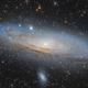 Andromeda galaxy,                                Faus Márquez