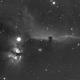 IC 434 Horsehead nebula and Flame Nebula-Ha (3 nights combined image),                                Adel Kildeev