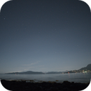 Faint stars above the mountains to the North - Vancouver, Canada,                                Jason R Wait