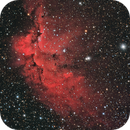 Wizard Nebula LRGB+Ha,                                Mark Holbrook