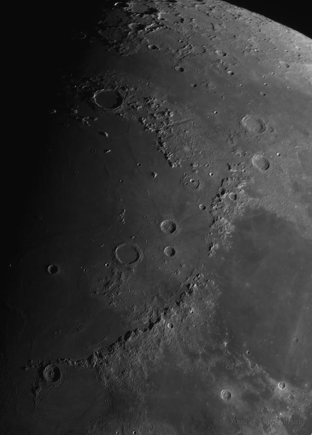 Lunar Serie - 2020 - Montes Apenninus - wide,                                Axel