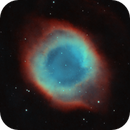 Helix Nebula in Ha and OIII,                                Anis Abdul