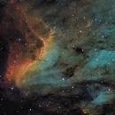Pelican Nebula,                                barrabclaw
