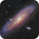 Andromeda (M31) in HaLRGB,                                Bill Long