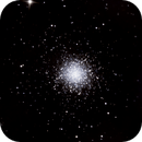 M13 with C6 Newtonian Reflector,                                Dave