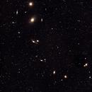 Un amas de galaxies au Chili par des élèves,                                club.astroguyane
