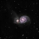 M51 LRGB,                                Steve Ibbotson