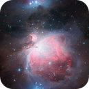 M42 - The Orion Nebula (2-frame mosaic),                                Samuli Vuorinen