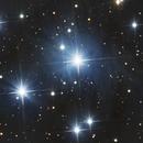 M45 - Les Pléïades,                                Daniel Fournier