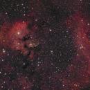 LBN 583 and NGC 7822,                                Jenafan