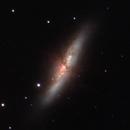 M82 Cigar Galaxy 21.02.2021,                                SwissCheese