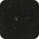 NGC457 & NGC436 in Cassiopeia const. / Canon 600D + Canon 400mm L f/5.6 + SW EQM-35 / SIRIL 0.9.11,                                patrick cartou