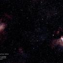 M16 Eagle & M17 Omega Nebulas,                                Robert Van Vugt