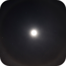 Lunar halo cutting through Orion's belt,                                Csere Mihaly