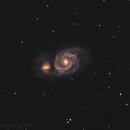Whirlpool Galaxy - Messier 51,                                Delberson