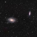 M81  M82  Bodes Galaxy,                                Edward Overstreet
