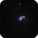 M51 - Whirlpool Galaxy,                                Mike Brady