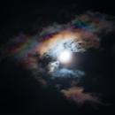 Moon and rainbow,                                kenthelleland