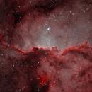 Bicolour NGC 6188,                                Colin