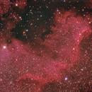 NGC7000 - Integration,                                Agostino Lamanna