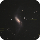 NGC660 galaxy, unguided.,                                Juan Pablo (Obser...