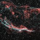 Veil nebula,                                keving