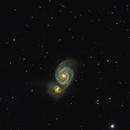 M51 The Whirlpool Galaxy,                                Jeff Dorman