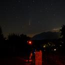 21-7-2020 Imaging the Neowise F3 comet,                                Boštjan Zagradišnik