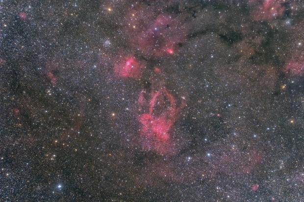 Sh2-157 M52 NGC 7635,                                MakikoSugimura