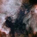 NGC7000 and Pelican Nebula narrowband,                                HaSeSky