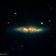 M 82 with Supernova SN 2014 J,                                Gotthard Stuhm