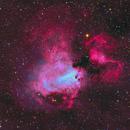 M17 - Omega Nebula,                                equinoxx