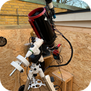 "New Scope now mounted in my observatory - TS Optics 6"" RC,                                Bradley Watson"