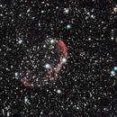 NGC6888 - Crescent Nebula - LRGB - 20191010 - ST80,                                altazastro