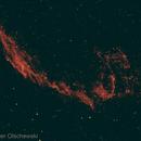Eastern Veil Nebula NGC6992 in H-Alpha,                                Hans-Peter Olschewski