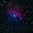 Heart of IC 405 Nebula,                                floreone