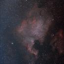 North America Nebula, NGC7000,                                spaceartic