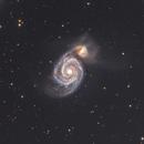 M51 Whirlpool Galaxy,                                wannaberocker_x