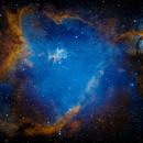Heart nebula (SHO),                                Andrew Gutierrez
