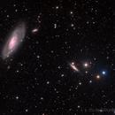 M106 & Many Friends,                                DeepSkyView