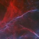 Sh2-96 SN Remnant HOO+RGB,                                Randy Lindstrom