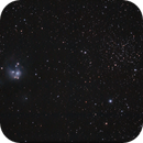 NGC 7129 and 7142,                                Poochpa