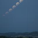 Partial lunar eclipse 07.08.2017,                                Andrea Storani