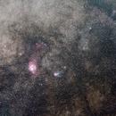 Lagoon nebula wide field,                                Ata Faghihi Mohaddess