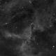 The Rosette Nebula - detail,                                Michal Rak