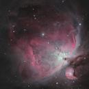 Orion Nebula January 2020,                                Chappel Astro