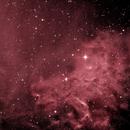 IC 405 Flaming Star Nebula,                                Richard Pattie