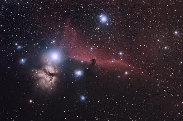 [Neb] IC434 (Nébuleuse de la Tête de Cheval) @Calern,                                Raypulsif